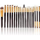 Generic 20 Kabuki Powder Cosmetic Foundation Contour Face Eye Make Up