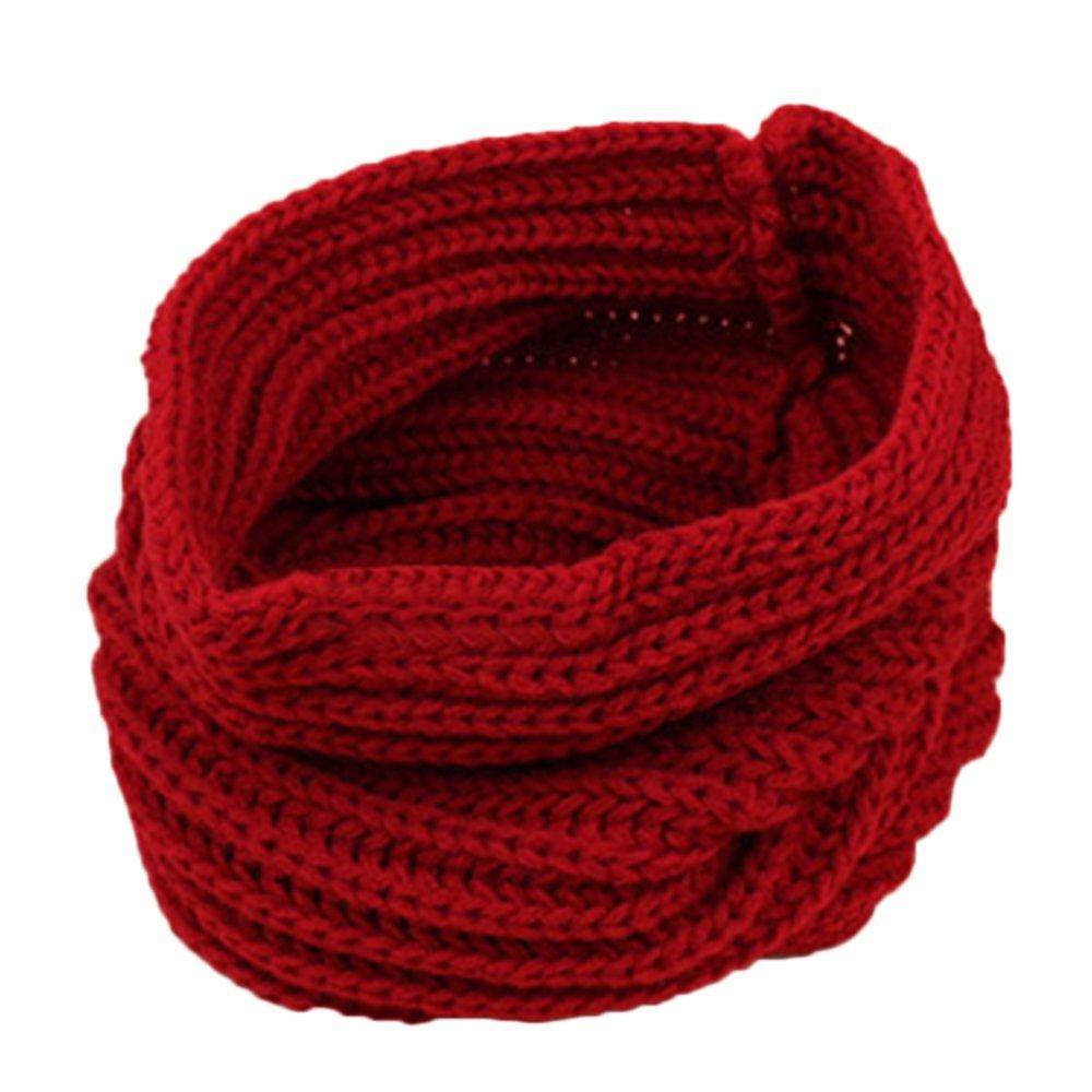 Bluelans® Children Kids Girls Boys Knitted Winter Neck Warmer Loop Snood Scarf