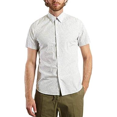 Paul Smith - Camiseta de Manga Corta para Hombre, Color Blanco ...