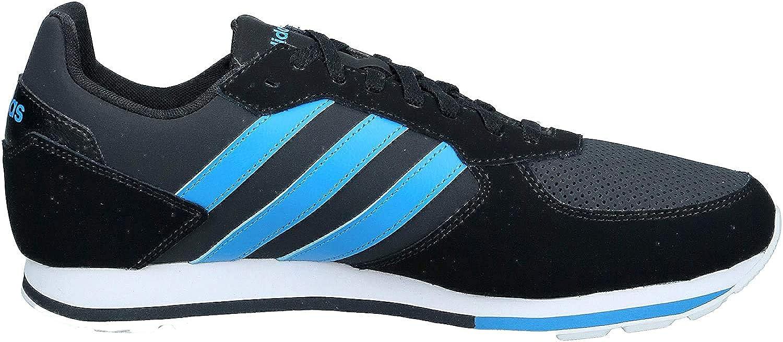 adidas 8k, Zapatillas de Deporte para Hombre Noir Bleu Intense Gris Carbone FTHcn