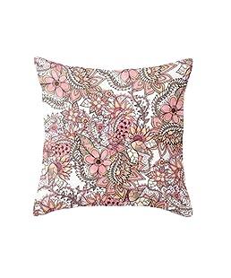 wintefei Throw Pillow Case Geometric Striped Flower Home Sofa Cushion Cover?-1#