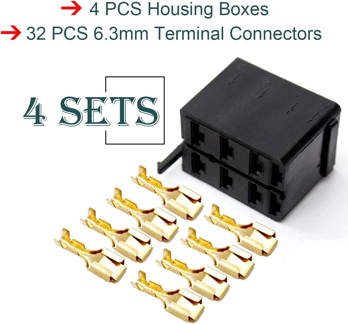 1 QTY CARLING ROCKER SWITCH WIRING CONNECTOR KIT