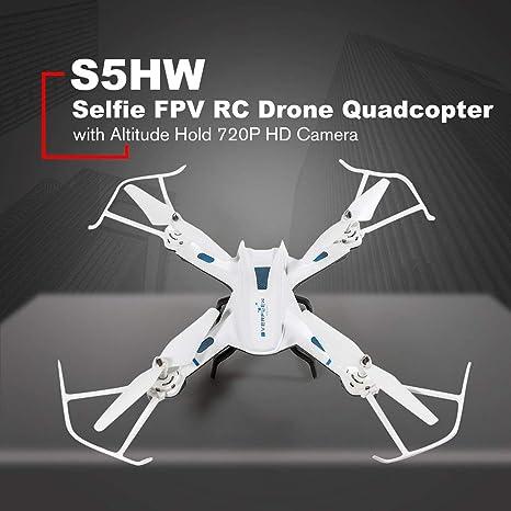 S5HW Smart Selfie RC Quadcopter Drone Aviones UAV con WiFi FPV ...