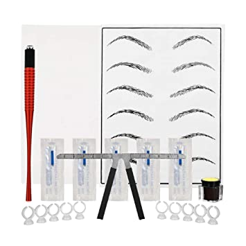 SUPVOX Kit de cejas Microblading Microblading set de agujas con ...