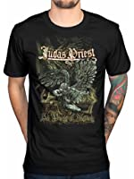 Official Judas Priest Sad Wings T-Shirt British Steel Turbo Sin After Sin Epitath