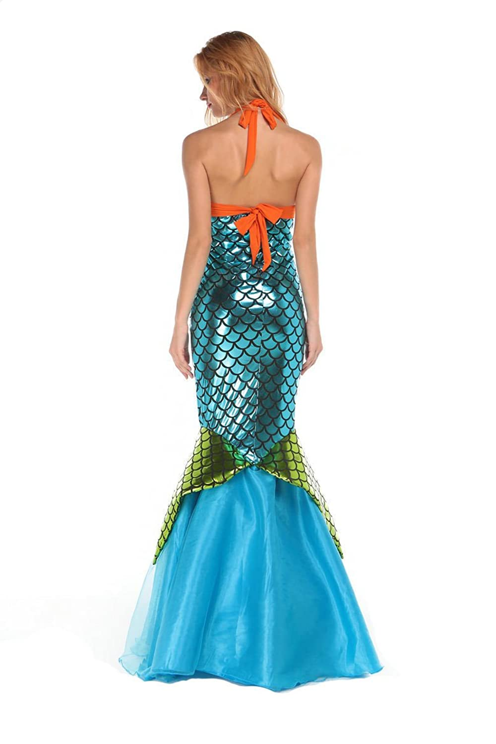 Amazon.com: LOSTSS Womens Adult Sexy Sequined Mermaid Dresses Cosplay Mermaid Dress: Clothing