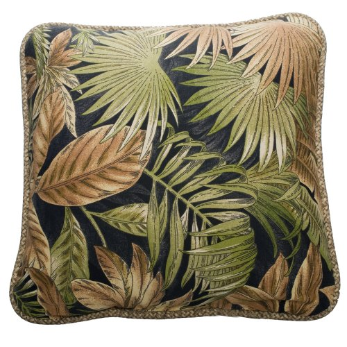 Victor Mill - Victor Mill Bahamian Nights Pillow, Square
