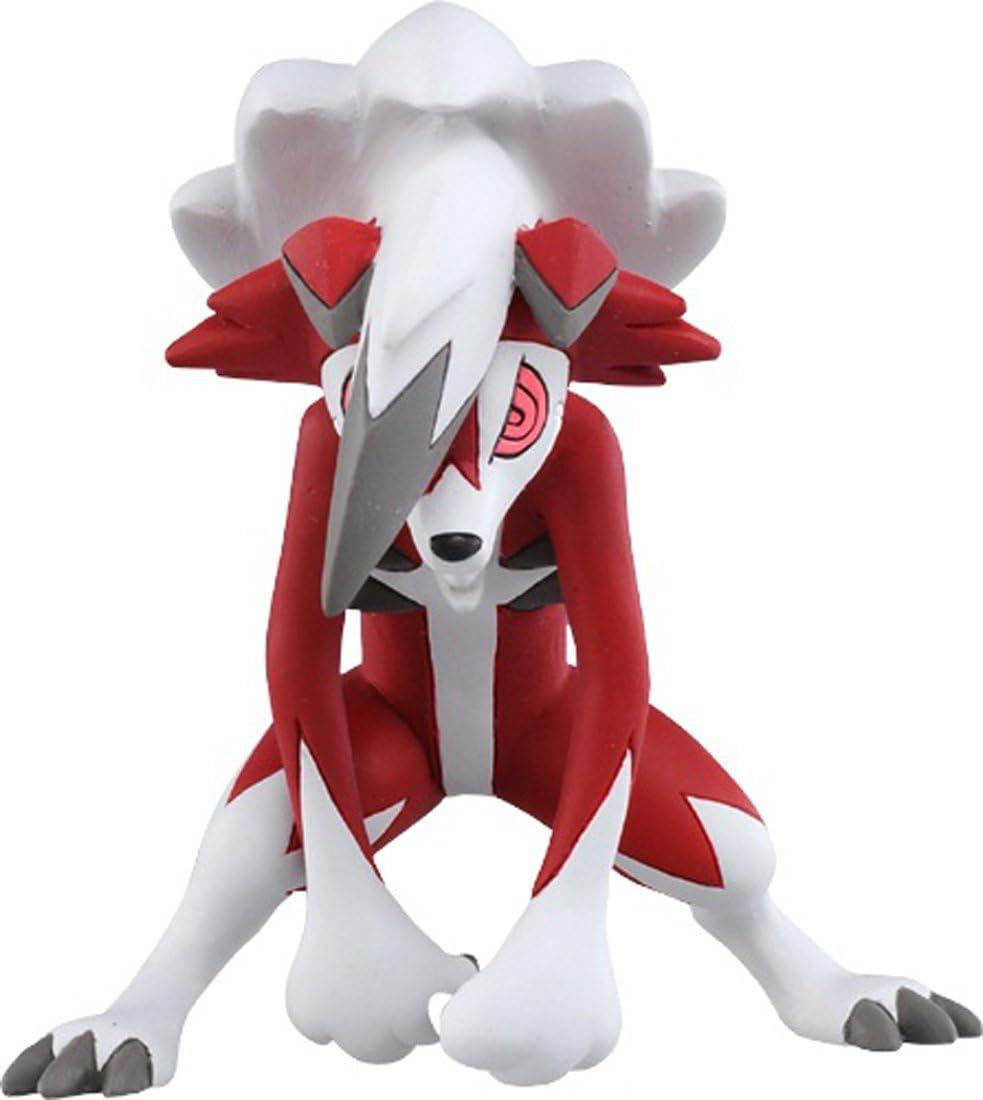 Action Figure JAPAX Lycanroc Takaratomy Pokemon Sun /& Moon Figure ESP-09 Midnight Form