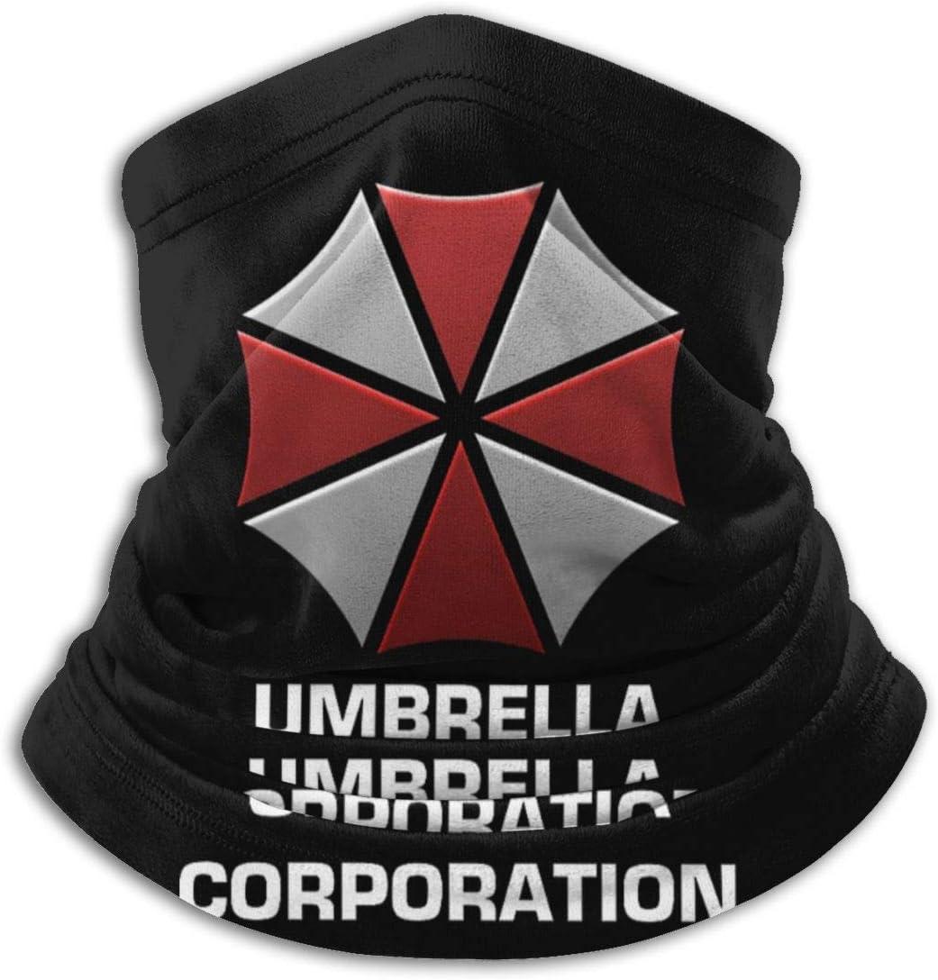 fenrris65 Umbrella Corporation Unisex Multifunctional Dustproof Face Ma-SK Microfiber Neck Gaiter Neck Warmer Scarf Balaclava