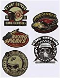 562 King Kerosin Set < Stunt Driver > AUTOCOLLANT / STICKER