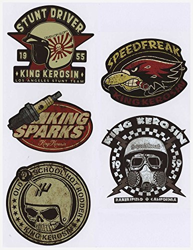 562 King Kerosin Set  AUTOCOLLANT / STICKER