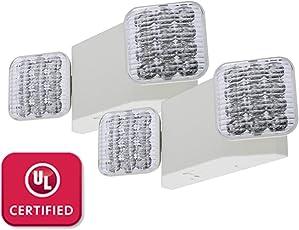 commercial emergency light fixtures amazon com lighting