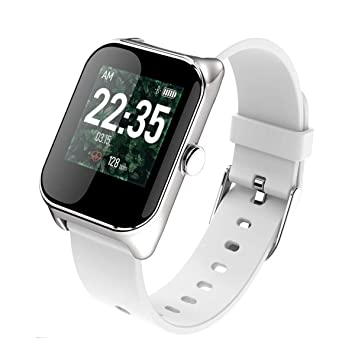 YSCYLY Rastreador de Ejercicios Relojes Inteligentes Banda Monitor de Ritmo cardíaco Presión Arterial Deportes Hombres y