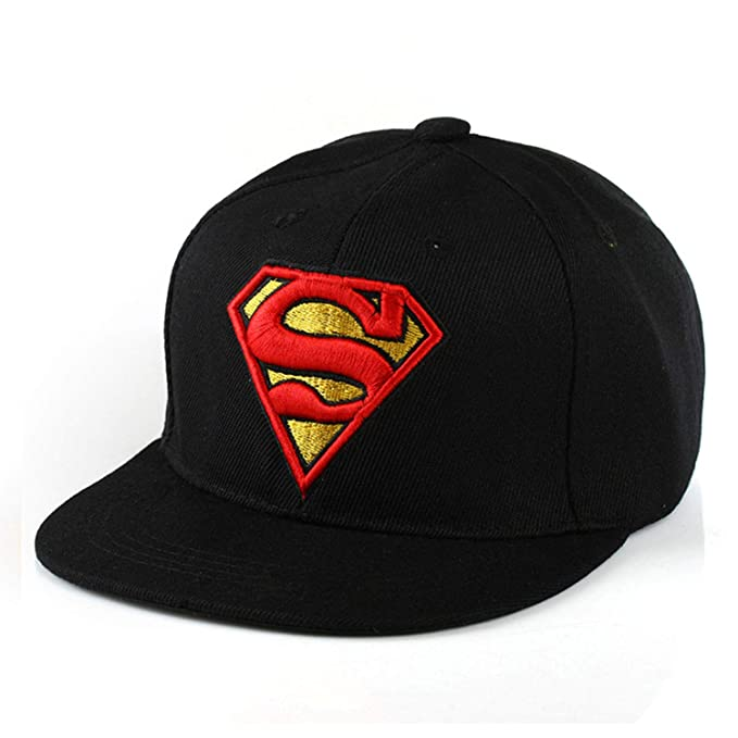 122a80403 Amazon.com: Ilense Snapback Hats Children Batman Superman Baseball ...