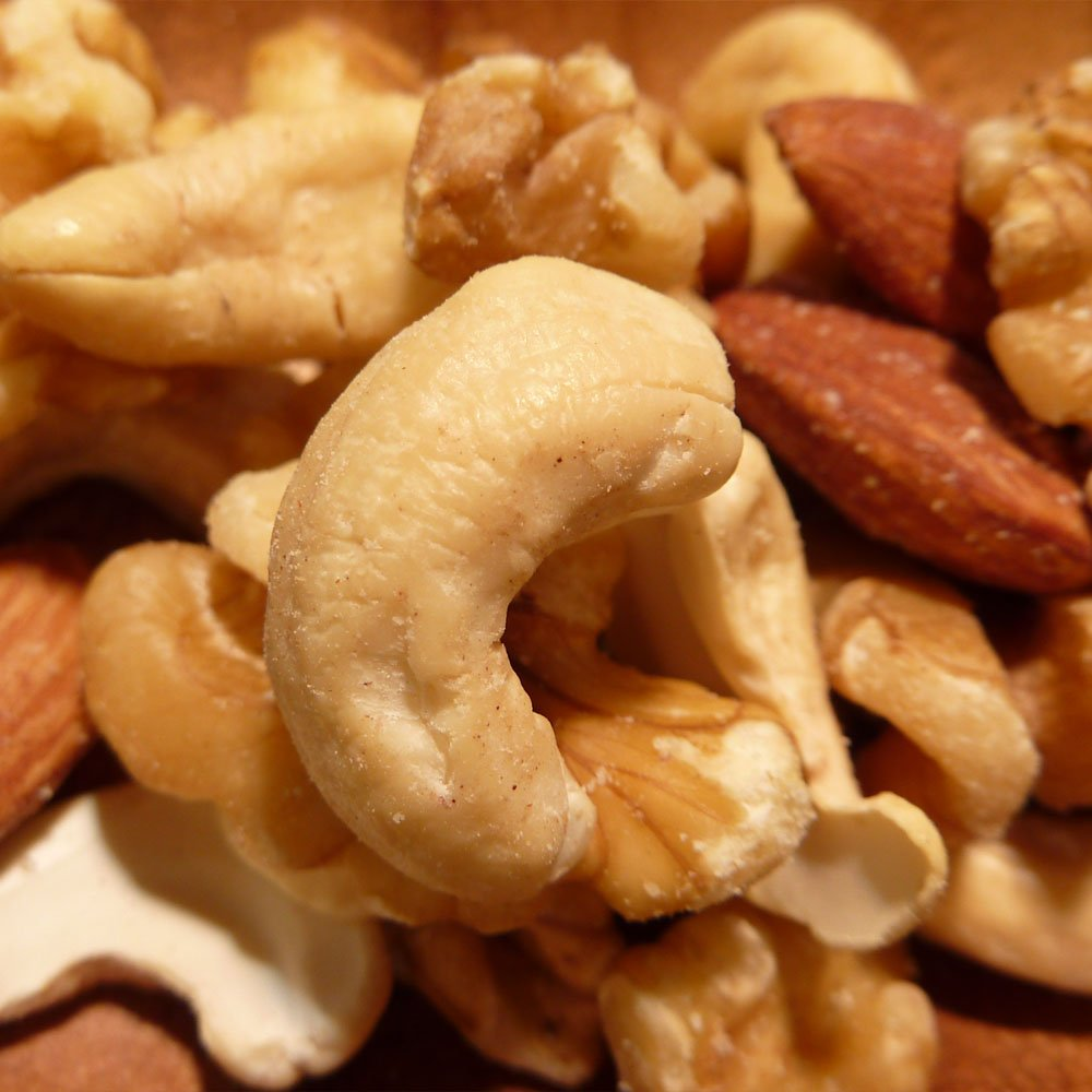 No additives mixed nuts 1kg (walnut% comma% almonds% comma% cashew nuts) salt, no oil use