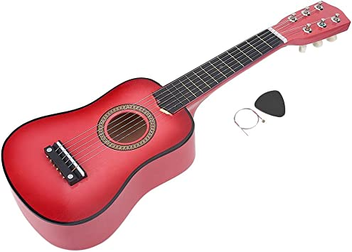 Dilwe 21 Pulgadas Madera Guitarra Juguete, Educación Musical ...
