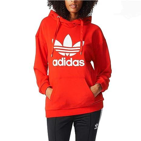Adidas Originals Trefoil Sweat-shirt à Capuche Femme