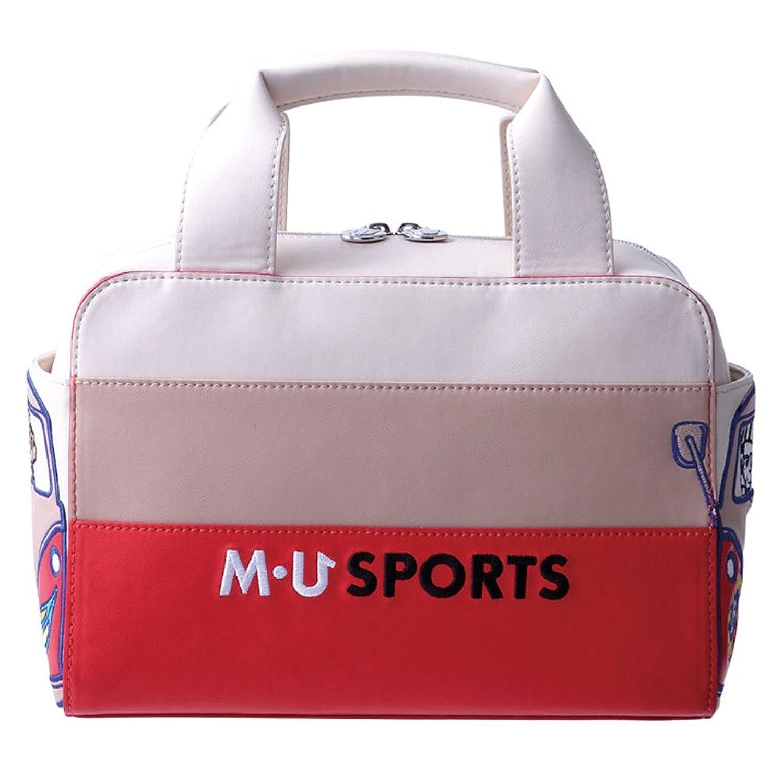 MU SPORTS MUスポーツ 703V2004 ポーチ B06XHHR1F3Blk