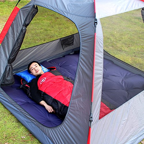 Double Produit Extérieur Coussin Gonflable Automatique Tente Coussin Anti-humidité Camping Barrière D'humidité Portable Plus Épais Lit Gonflable 188 * 110 * 3.5cm