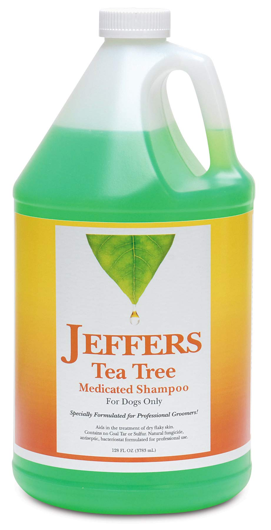 Jeffers Tea Tree Medicated Shampoo, Gallon by Jeffers