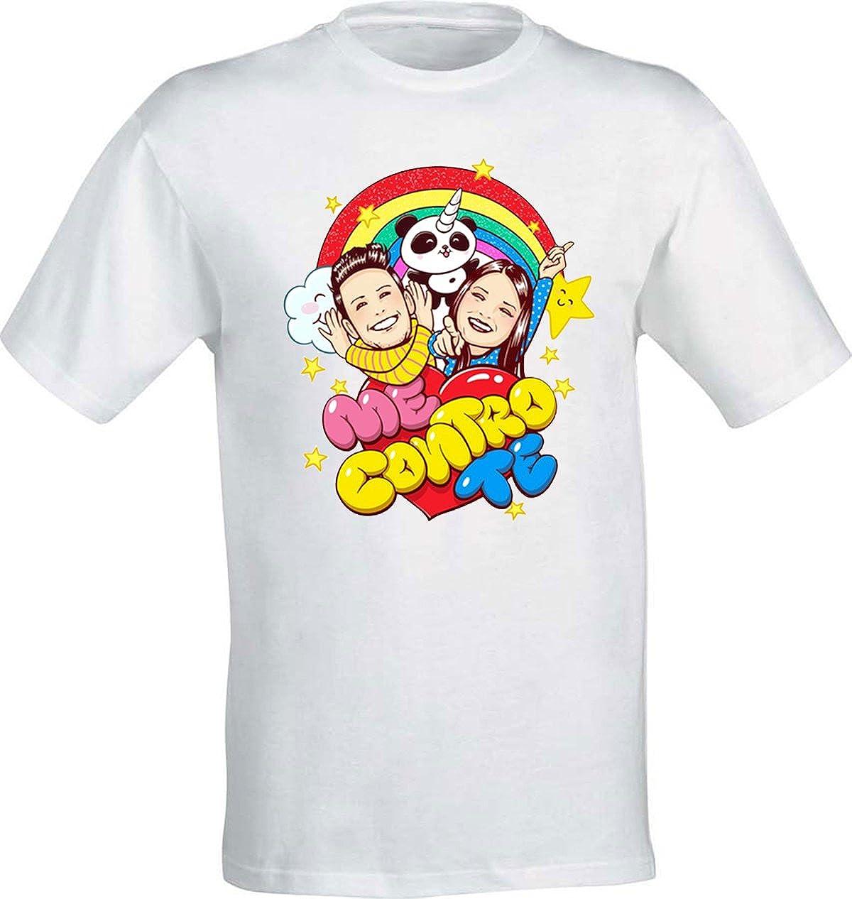 La T-Shirt di Sofì e Luì Team trote Kira e Ray 100% Cotone Alta qualità - Bambini/e Ragazzi/e Adulti