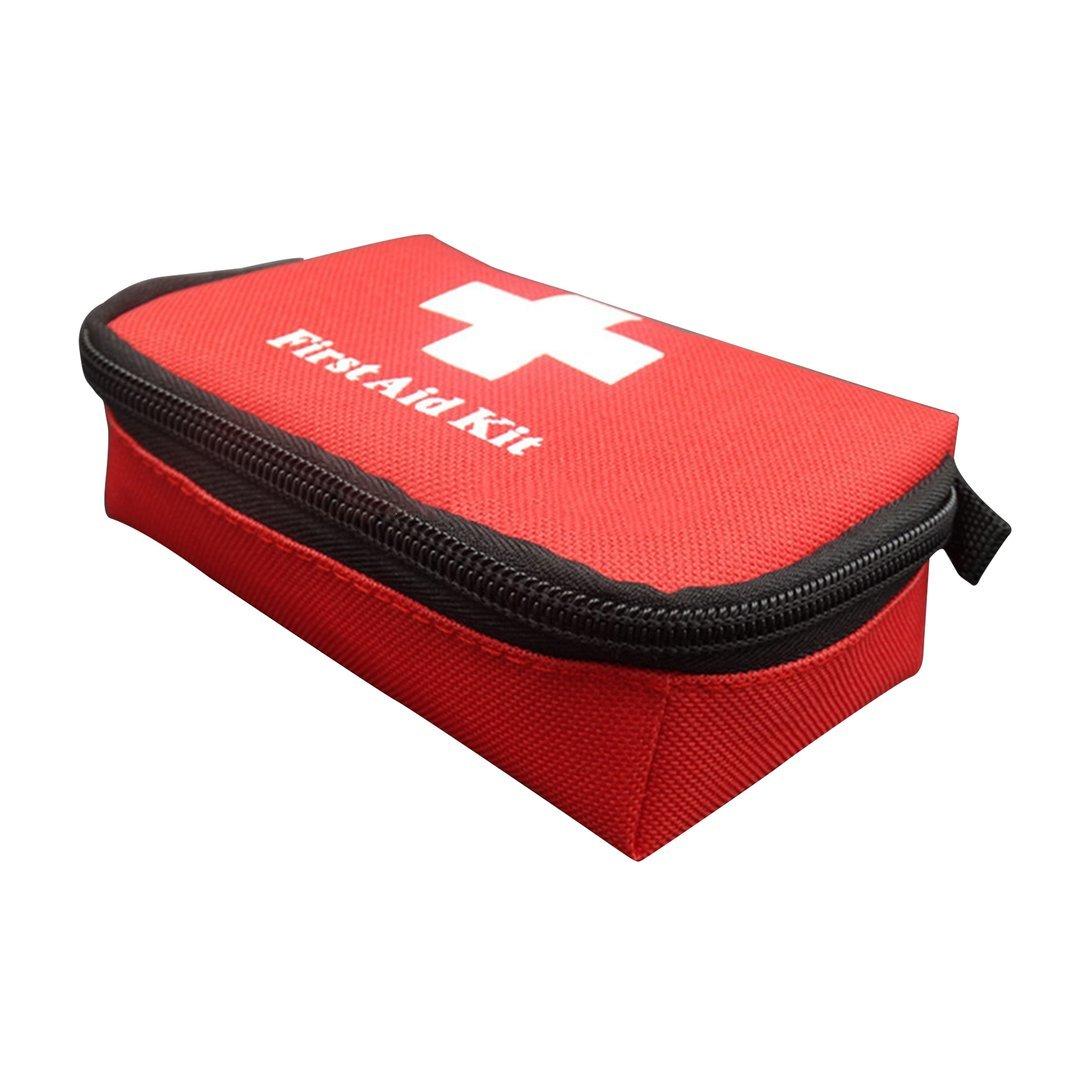 1X tragbare Erste-Hilfe-Set rot Camping Notüberlebens wasserdichte Tasche sr