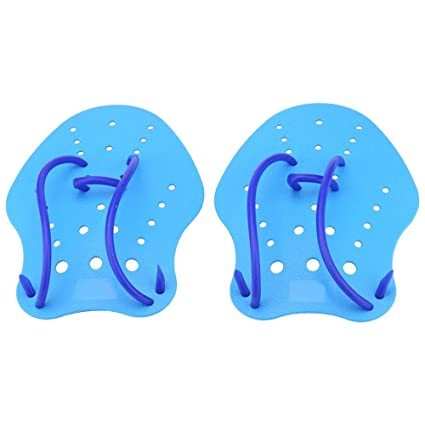 VGEBY 1 Pair Swimming Training Paddles Hand Paddles Fins Power Training Gloves for Kids and Adult