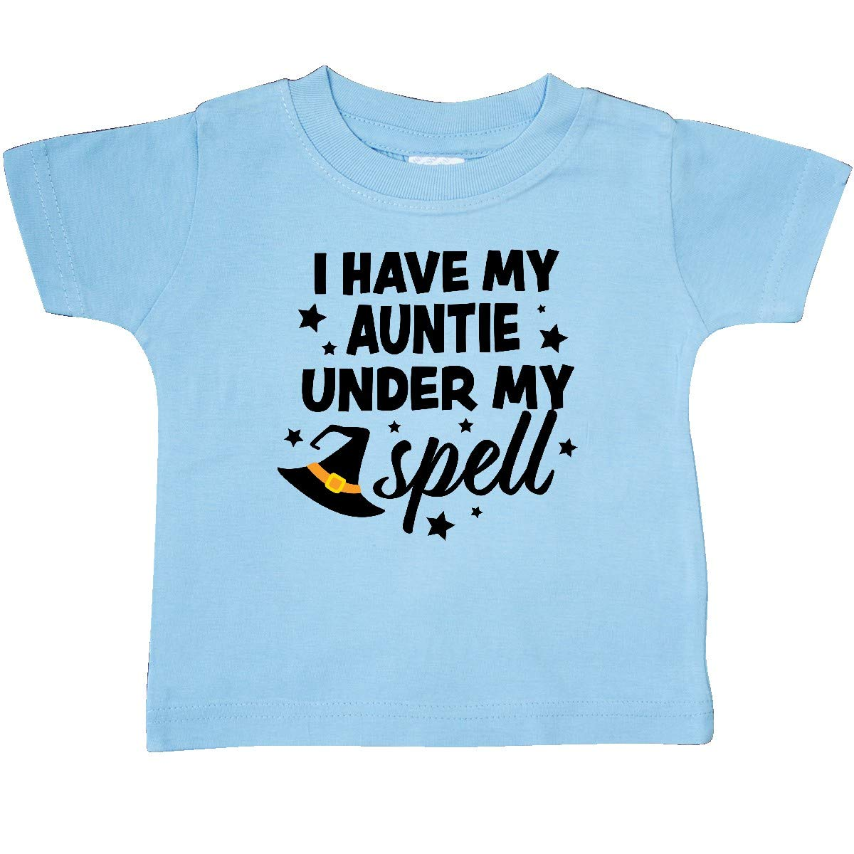 inktastic I Have My Auntie Under My Spell with Cute Witch Hat Baby T-Shirt
