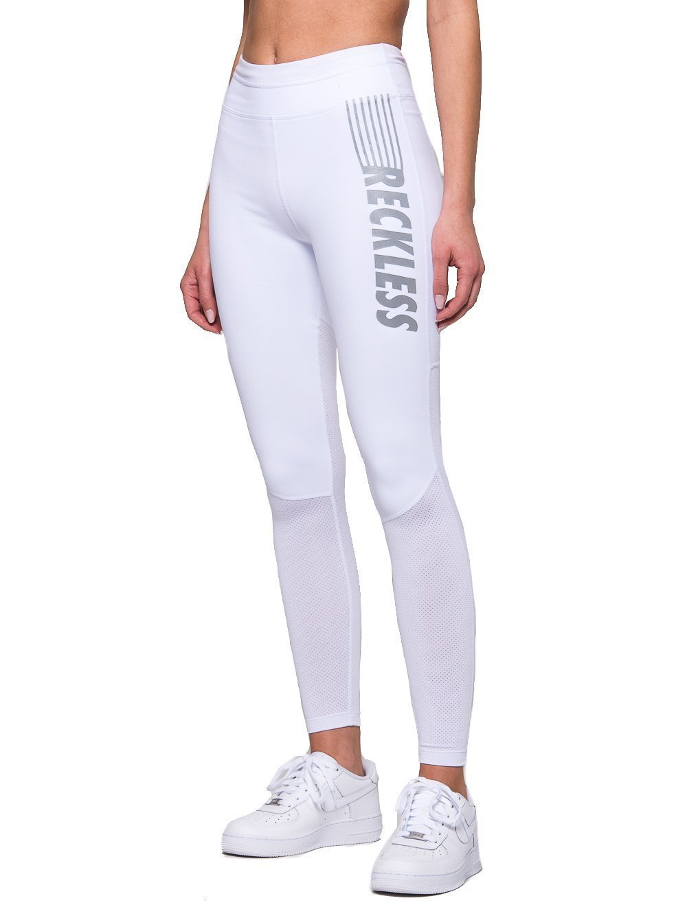 Young Reckless - Erin Leggings - White - XS - Womens - Activewear - Leggings - White