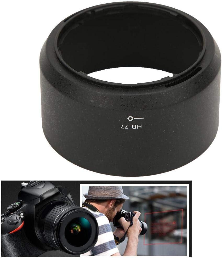 HB-77 Plastic Lens Hood Replacement for Nikon AF-P DX NIKKOR 70-300mm f Vbestlife Camera Lens Hood 4.5-6.3G ED//VR Lens.