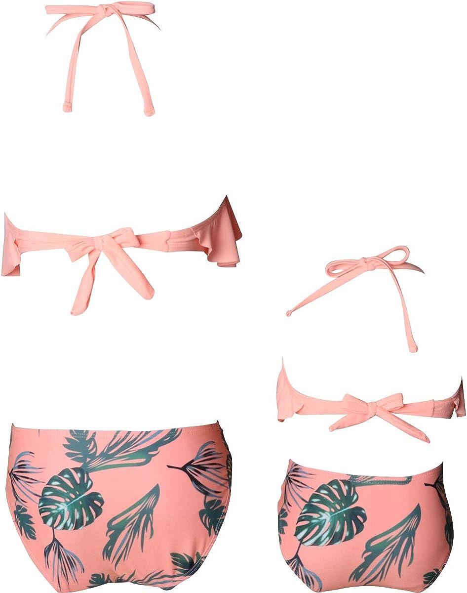 Mam/á beb/é Ba/ñadores de Mujer de Verano Playa. Dilicwa Madre e Hija Bikinis Traje de ba/ño Padre-Hijo Bikini Traje de Ba/ño