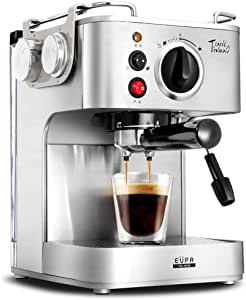 RUIXFCA Cafetera Espresso, Cafetera automática, Auto-Limpieza ...