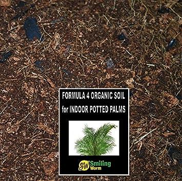 3 Litro de tierra orgánica suelo para Chamaedorea Areca Kentia Palm plantas. 4 ingrédients –