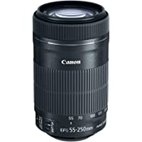 Canon Lente EF-S 55-250mm f/4-5.6 IS STM, Preta