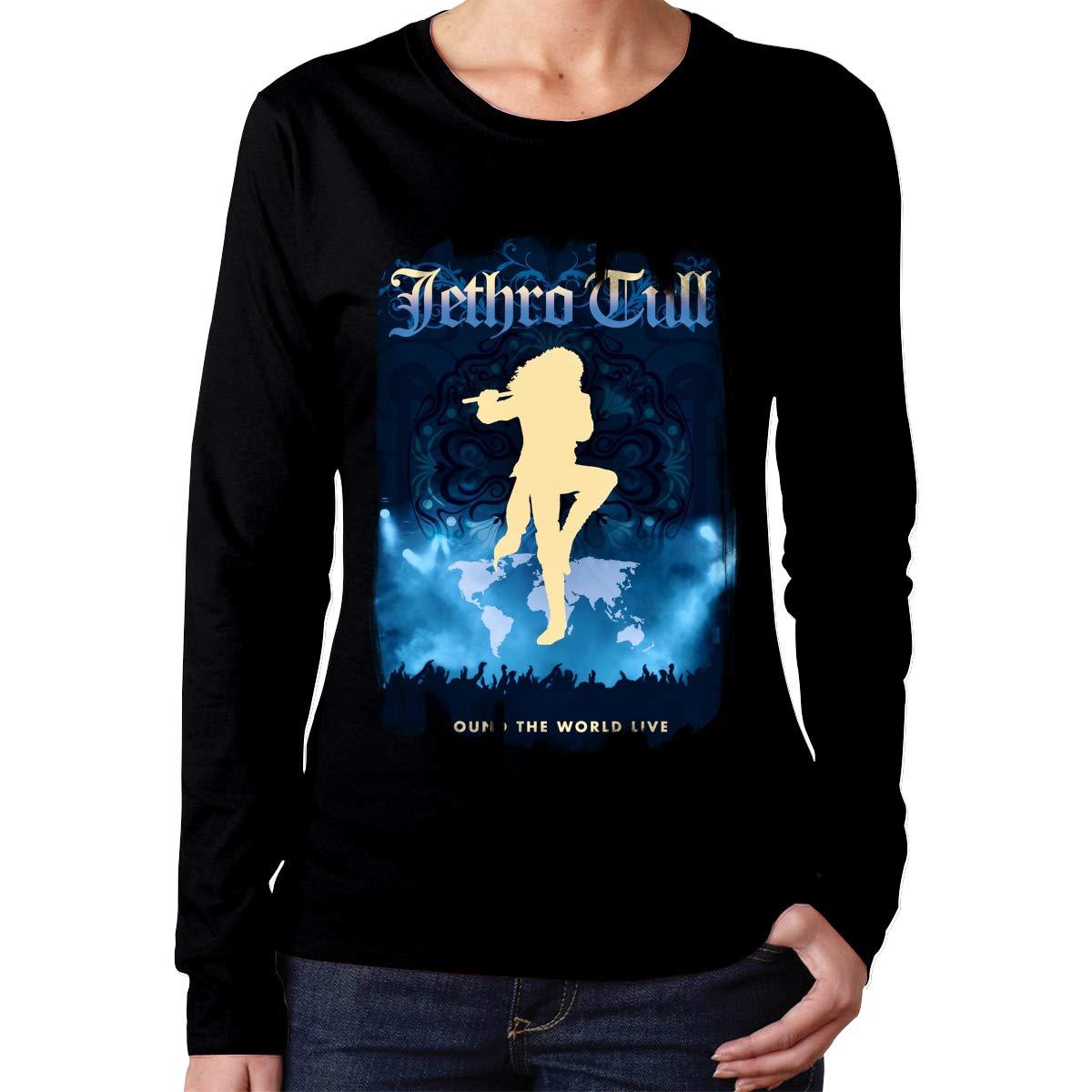 Qiyyqi Jethro Tull T Shirt Woman S T Shirt 7032