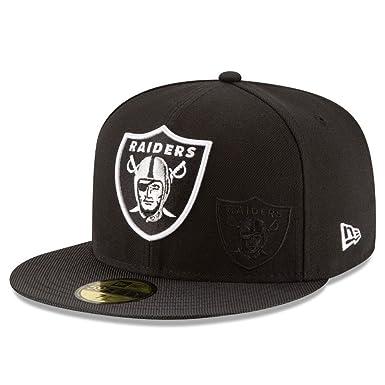 A NEW ERA NFL Sideline 59fifty Oakrai OTC Gorra Línea Oakland ...