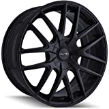TOUREN TR60 Full Matte Black Wheel (17 x 7.5 inches /5 x 72 mm, 42 mm Offset)