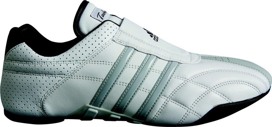 Adidas Taekwondo Schuh AdiLux, AdiLux, AdiLux, Weiß mit grauen Streifen  eab05d