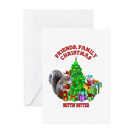 Amazon Cafepress Christmas Squirrel Greeting Card Note