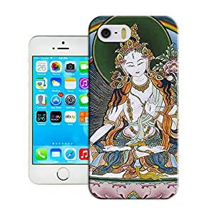 LarryToliver Cover For Customizable Tibetan Book iphone 5/5s With Tibetan Book Image cases