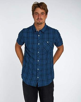 BILLABONG All Day Check Short Sleeve Camisa, Hombre: Amazon.es ...