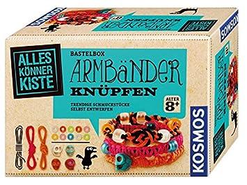 Kosmos 604158 Alleskonnerkiste Armbander Knupfen Amazon De