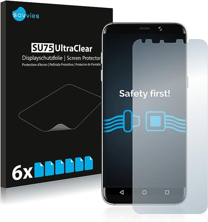 savvies Protector Pantalla Compatible con Bluboo S8 Plus (6 ...