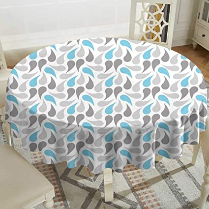 Stupendous Amazon Com Small Round Tablecloth 60 Inch Geometric Iran Ibusinesslaw Wood Chair Design Ideas Ibusinesslaworg
