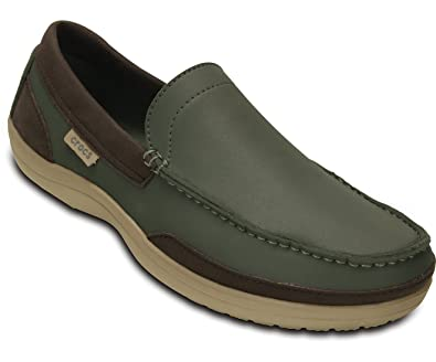 Crocs Wrap Colorite Loafer M Dusty Olive/Tumbleweed Men 48-49EUR