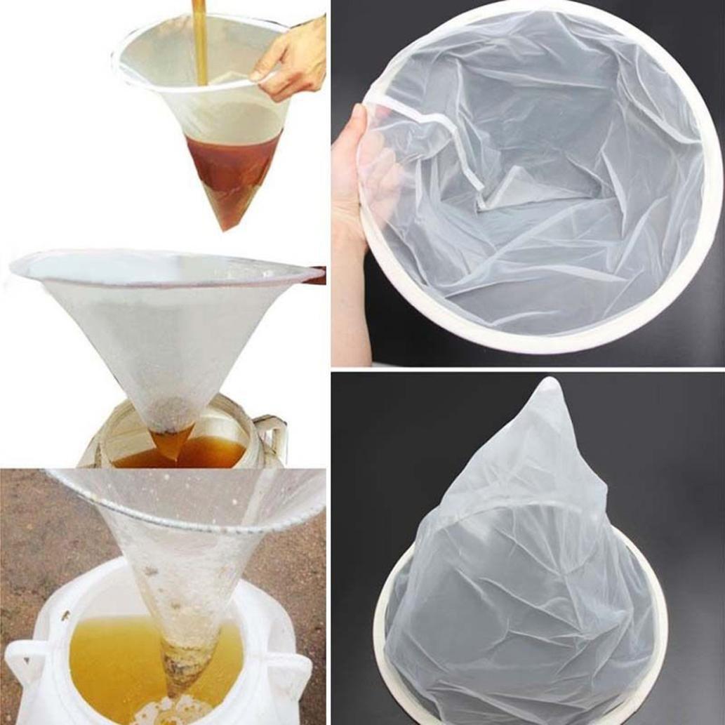 UMFun Beekeeping Honey Strainer Filter Net Honey Strainer HoneyTools Honey Bucket Filter