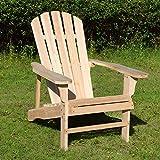 Merax WF038139MAA Adirondack 100% Pine Wood Outdoor Chair