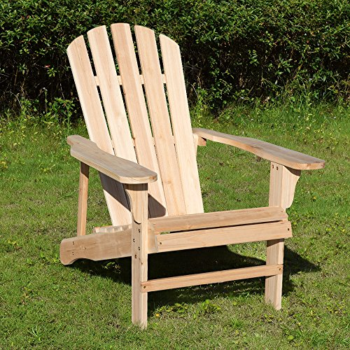 Merax WF038139MAA Adirondack 100% Pine Wood Outdoor Chair by Merax