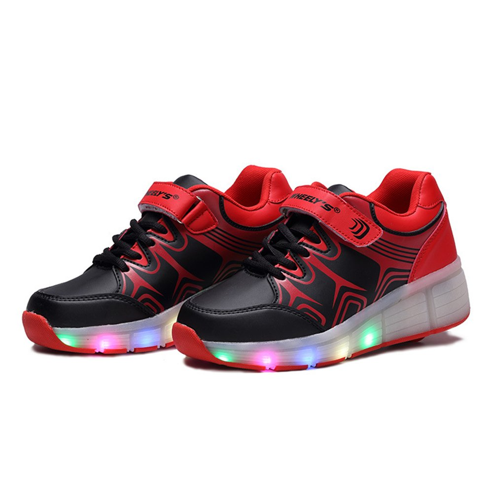 chen yasheng Children Sneakers Single Wheels Led Luminous Boys Girls Toddler Shoes Rollers Sneakers Glowing Sneakers