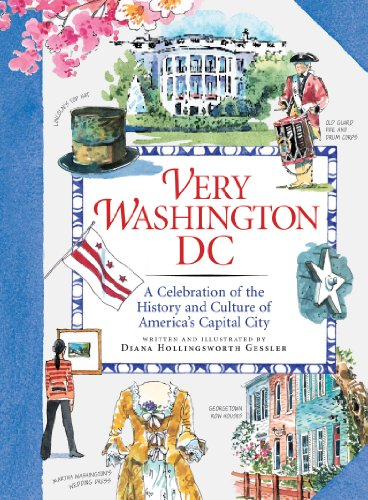 A travel guide with character, this fact-filled keepsake offers all the history, beauty, charm, and culture of our nation's capital city. In eye-catching watercolors and detailed sketches, artist Diana Gessler captures the allure that makes Washin...